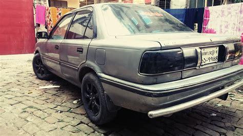 Stopl Toyota Corolla Se Ee90 1988 1991 toyota corolla ee90 custom exhaust muffler hks loud sound in bangladesh