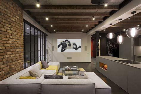 Supérieur Cuisine Marron #10: Canape-angle-design-moderne-loft-industriel.jpg