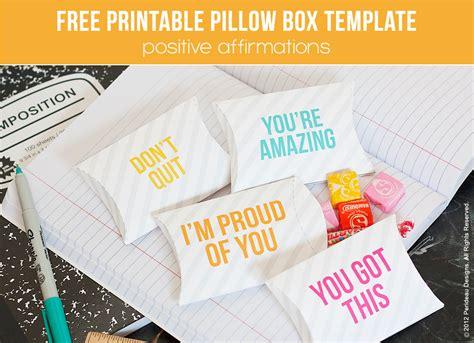 printable   school pillow box printables  mom