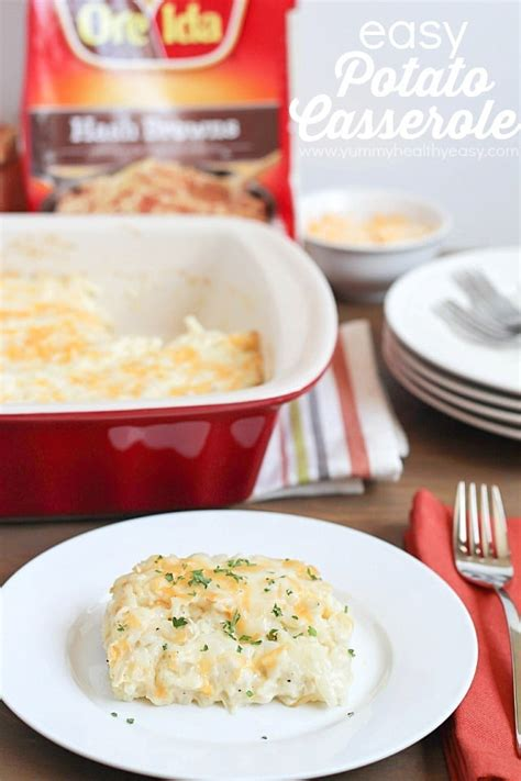 easy potato casserole for easter brunch yummy healthy easy