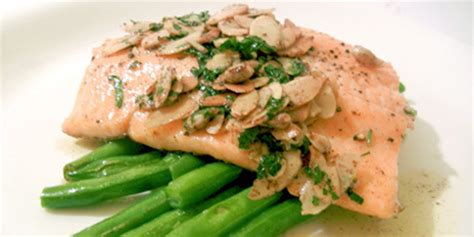 trout amandine trout amandine recipes food network canada