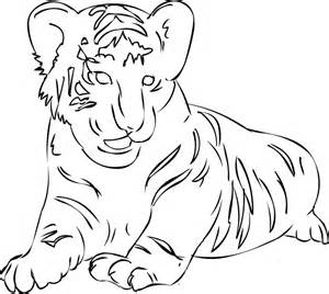 siberean tiger coloring page animals town free