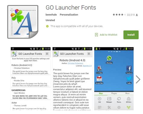 fonts for android without rooting how to change your android phone font with or without root