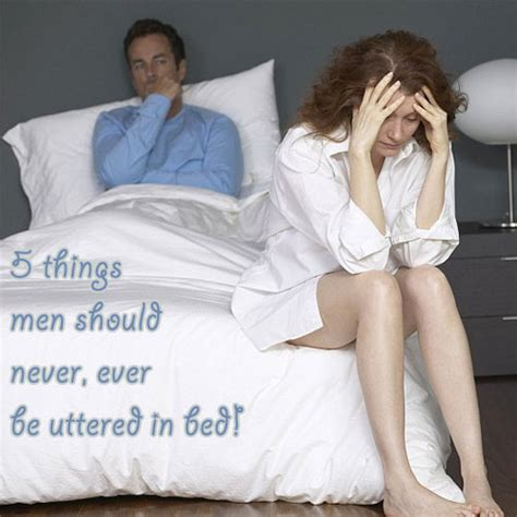 5 things should never utter in bed slide 1 ifairer
