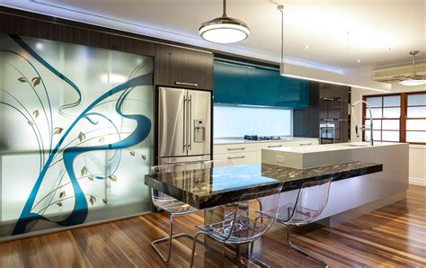 architecture interior design before after major kitchen remodeling in brisbane by