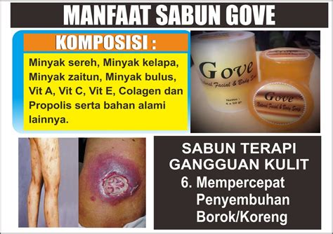 Sabun Gove Herbal manfaat sabun gove