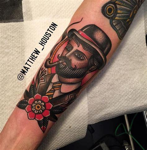 gentlemans tattoo flash uk matthew houston dapper gentleman made in amsterdam at the