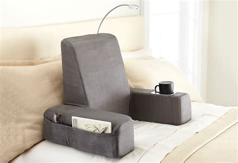 backrest pillows for bed warming backrest massager sharper image