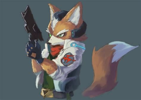 fox 5 fan of the star fox fan art