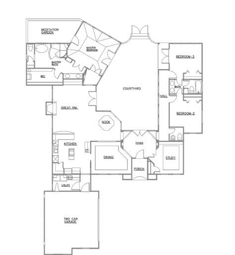 craftsman house plans with walkout basement simple open