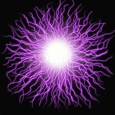Yasma Elektrik elektro blitz blitz auf einem farbigen stockfoto
