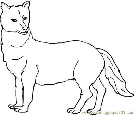 easy wolf pup coloring pages