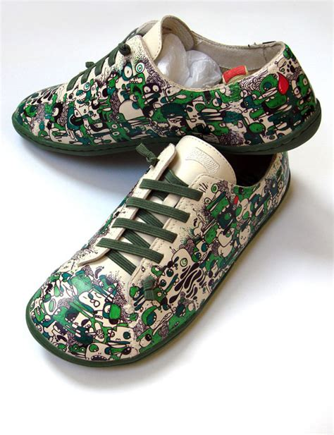 customized shoes awesome custom shoes designs created by graphic designers
