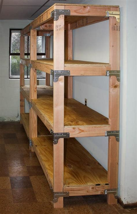 diy 2x4 shelving unit sweet pea