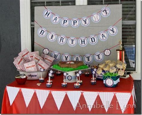 baseball themed first birthday party activities at each baseball back drop n table ideas pinterest