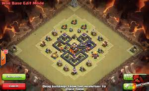 War base 2015 one of the best clash of clans town hall 5 war base 6