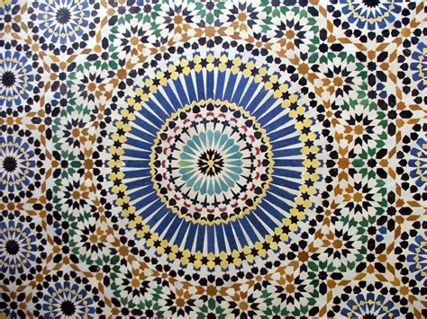 pattern islamic august 2011 stars in symmetry