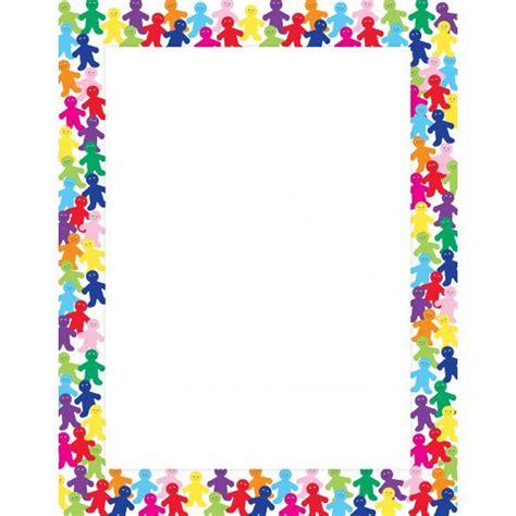 design poster borders rainbow people border poster