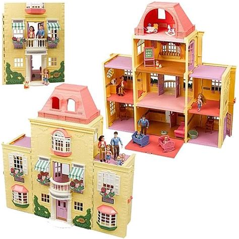 fisher price family doll house fisher price loving family twin time dollhouse mattel