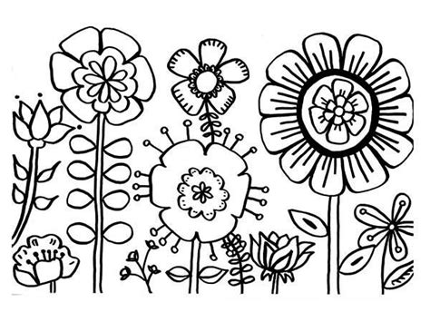 coloring pictures of flowers best 25 coloring pages of flowers ideas on