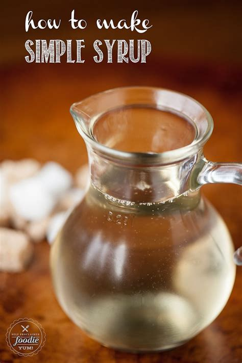 how to make simple syrup recipe keep in make simple
