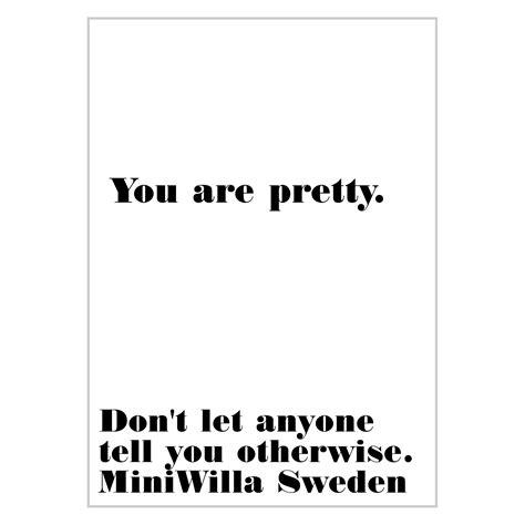 Leo & Bella   MiniWilla Pretty Poster