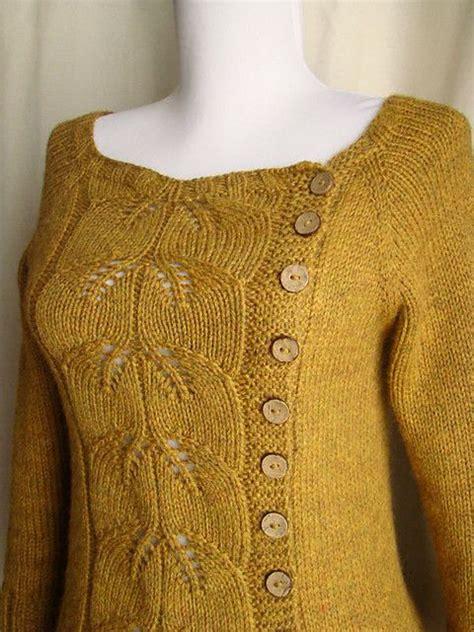 knitting pattern upside down sweater buttony毛衣 编织幸福 编织幸福的博客 knitting top down seamless