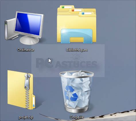 taille icone bureau agrandir les ic 244 nes du bureau windows vista et windows 7