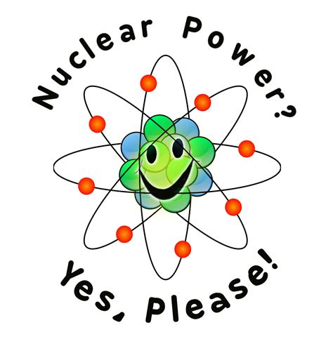 test pattern of atomic energy nuclear power yes please clear energy nuclear pro