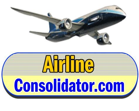 airlineconsolidator home