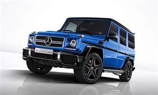 mercedes amg unveils 50th anniversary limited edition g63