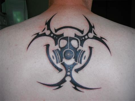 biohazard tribal tattoo biohazard tribal par damien loison tattoos