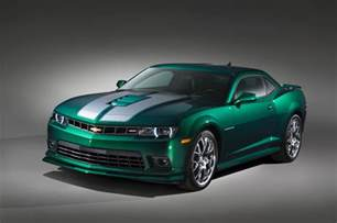 2015 chevrolet camaro green flash unveiled gm authority