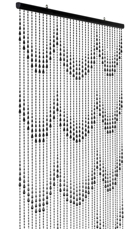 black and white beaded curtains the world s catalog of ideas