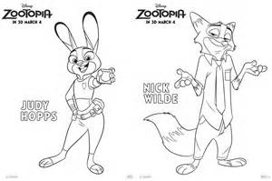 zootopia character coloring pages fancy shanty 174