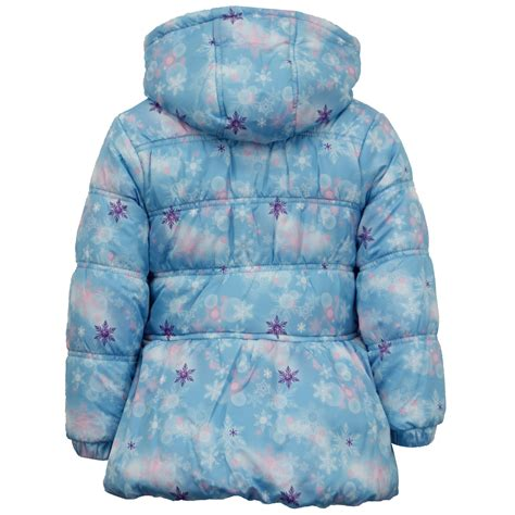 disney frozen jacket coat elsa padded