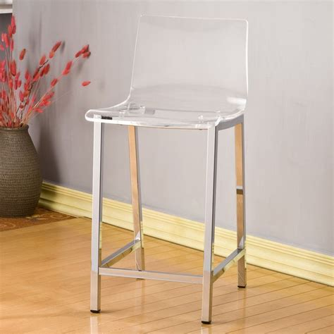 Clear Acrylic Counter Stools by Decor Clear Acrylic Counter Stool Set Of 2
