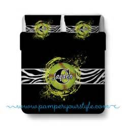 softball custom bedding zebra bed personalize with