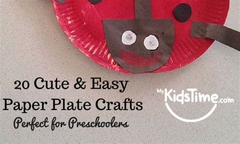 Easy Paper Plate Crafts For - 25 easy paper plate crafts for preschoolers