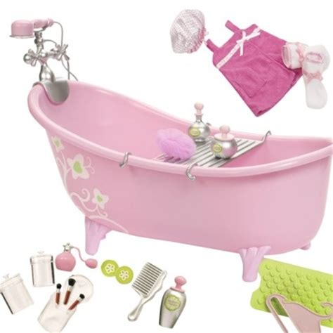 american girl doll bathtub our generation home accessory pink bathtub for sage s