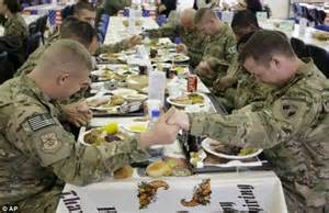 how americans celebrate thanksgiving thanksgiving day 2012 in afghanistan 66k troops celebrate