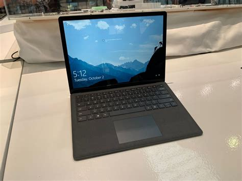 surface laptop 2 surface laptop 2 microsoft s surface laptop 2 is faster than before with an all new matte black finish