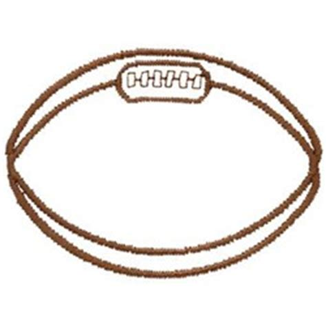 Rugby Outline by Dakota Collectibles Embroidery Design Rugby Outline 1 83 Inches H X 2 49 Inches W