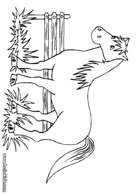Big Coloring Pages Of Horses | horse drawing pages