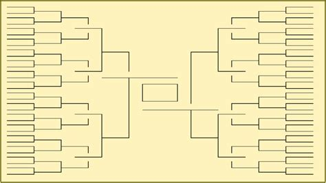 Blank Ncaa Bracket Template blank march madness bracket to print for 2017 ncaa