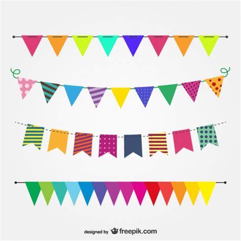imagenes vectores fiesta imagen vectorial banderas de fiesta descargar vectores