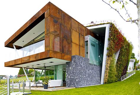 energy efficient home construction box villa takes energy efficient green homes to a hip new level in switzerland box