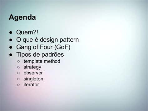iterator pattern gang of four design patterns de uma vez por todas