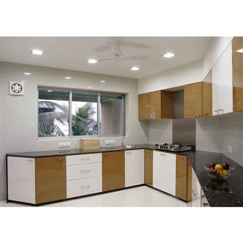 Laminate Sheets For Kitchen Cabinets Laminate Kitchen Cabinet Elraado Engineering Limited Manufacturer In Tiruchirappalli