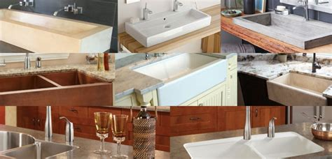 styles of kitchen sinks four of today s most popular sink styles